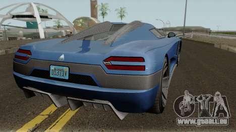Overflod Entity XXR GTA V pour GTA San Andreas vue de droite