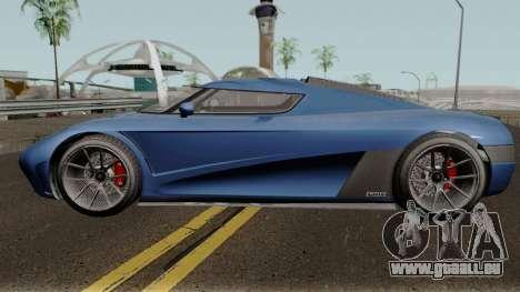 Overflod Entity XXR GTA V pour GTA San Andreas laissé vue
