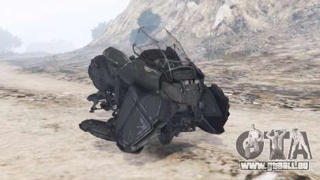 Hoverbike Atlas [replace] pour GTA 5