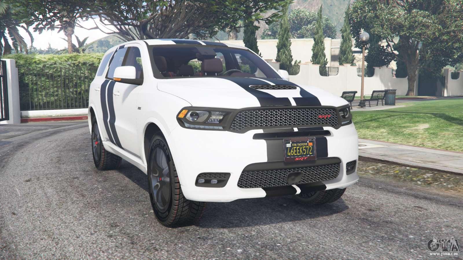 dodge durango srt gta 5 Dodge Durango SRT Mopar 2 v2.2.2 [add-on] für GTA 2
