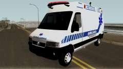 Fiat Ducato Brazilian Ambulance