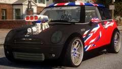 Mini Cooper S V8 UK für GTA 4