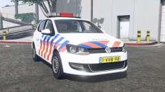 Volkswagen Polo (Typ 6R) 2011 Politie [ELS]