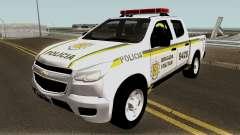 Chevrolet S-10 Brazilian Police pour GTA San Andreas