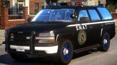 Chevrolet Tahoe Z71 Police (SWAT) pour GTA 4