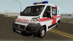 Fiat Ducato Lithuanian Ambulance