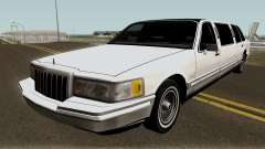 Lincoln Towncar Limo 1991 pour GTA San Andreas