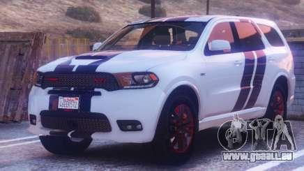Dodge Durango SRT HD 2018 1.6 pour GTA 5