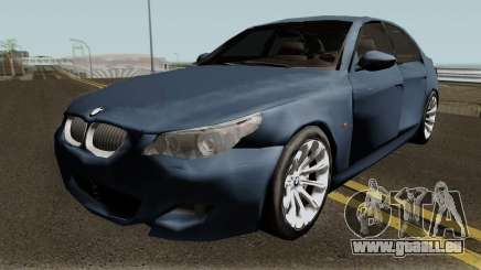 BMW M5 Low-poly für GTA San Andreas