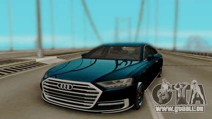 Audi A8 2018 HQ pour GTA San Andreas