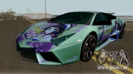 Lamborghini Reventon Itasha Hinatsuru für GTA San Andreas