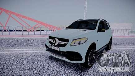 Mercedes-Benz GLE 63S pour GTA San Andreas