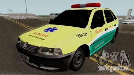 Volkswagen Gol EcoSul für GTA San Andreas