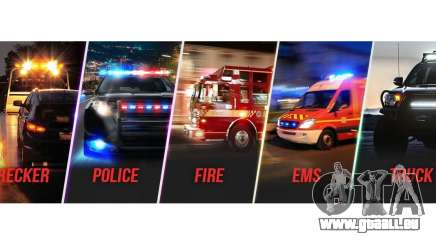 Emergency Lighting System v1.05 pour GTA 5