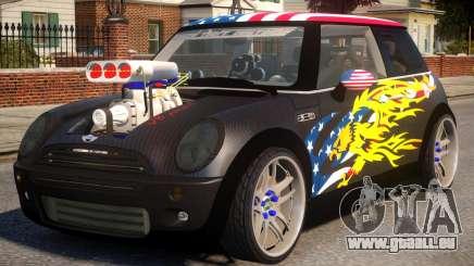 Mini Cooper S V8 USA für GTA 4