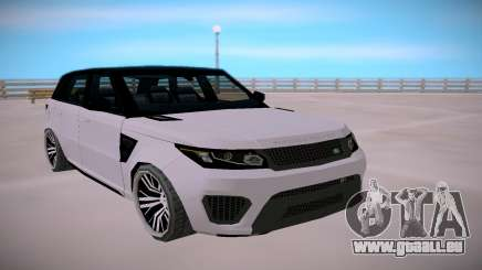 Land Rover Range Rover SVR SA StyledLow Poly für GTA San Andreas