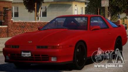 1992 Toyota Supra 3.0 Turbo pour GTA 4