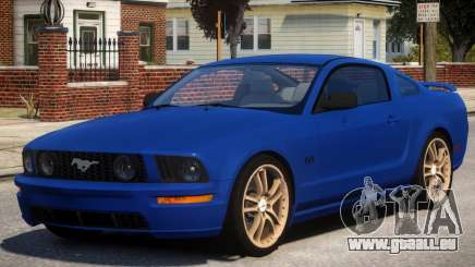 Ford Mustang GT V1 pour GTA 4