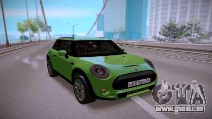 Mini Cooper Green für GTA San Andreas