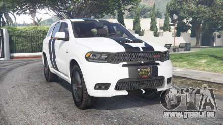 Dodge Durango SRT Mopar 2018 v1.9.1 [add-on] für GTA 5