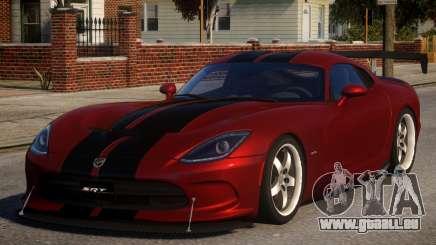 Dodge Viper 2013 PJ1 für GTA 4