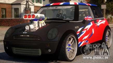 Mini Cooper S V8 UK pour GTA 4