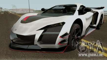 Alexander XCR (130R) pour GTA San Andreas