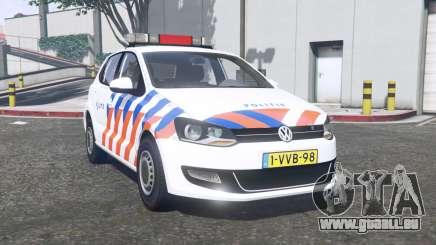 Volkswagen Polo 2011 Politie [ELS] [replace] pour GTA 5