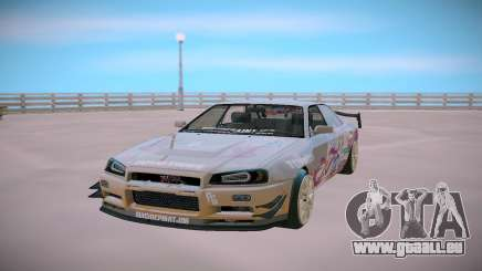 Nissan Skyline GT-R R34 Toyota Chaser für GTA San Andreas
