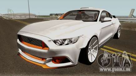 Ford Mustang GT Widebody für GTA San Andreas