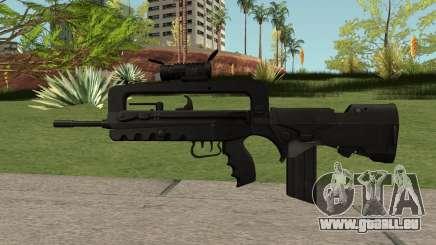 FAMAS Black für GTA San Andreas