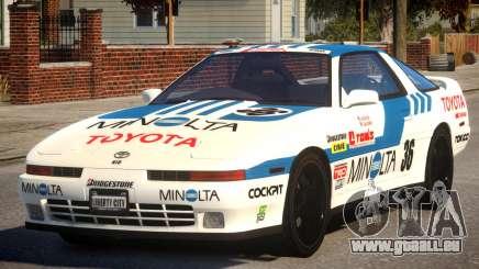 1992 Toyota Supra 3.0 Turbo PJ1 pour GTA 4