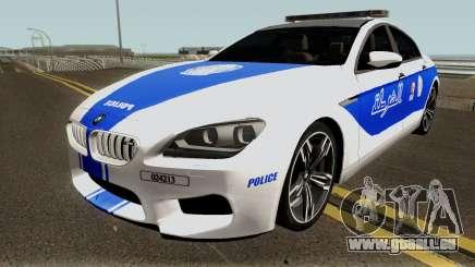 BMW M6 F13 Gran Coupe 2014 Algeria Police für GTA San Andreas