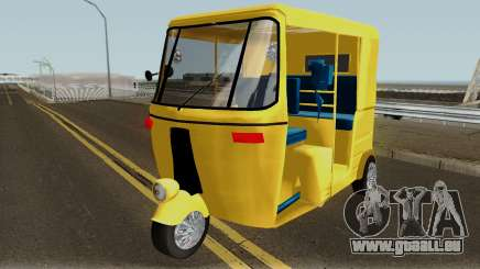 Real Indian Rickshaw für GTA San Andreas