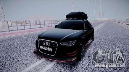 Audi A6 Travaler pour GTA San Andreas