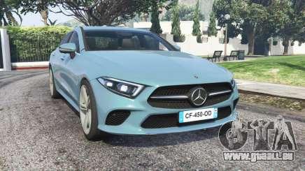 Mercedes-Benz CLS 450 (C257) 2018 v1.1 [replace] pour GTA 5