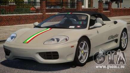 2000 Ferrari 360 Spider V1.3 pour GTA 4