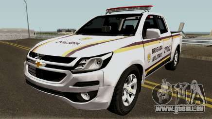 Chevrolet S-10 2017 Brigada Militar pour GTA San Andreas