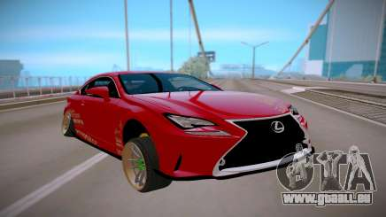 Lexus IS 350 F-Sport pour GTA San Andreas