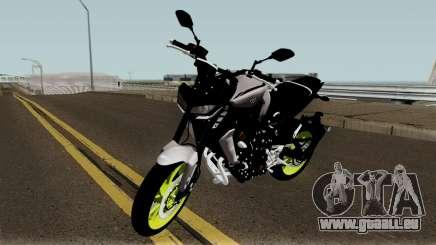 Yamaha MT-09 2017 pour GTA San Andreas