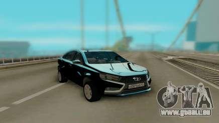 Lada Vesta Black pour GTA San Andreas