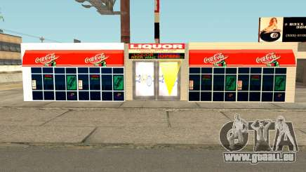 New Liquor Store with Products of The Year 1992 pour GTA San Andreas