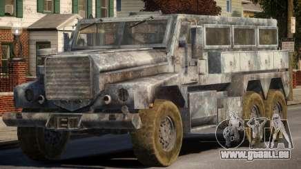 MRAP Cougar 6x6 für GTA 4