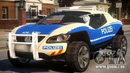 VW Concept T German Police Car für GTA 4