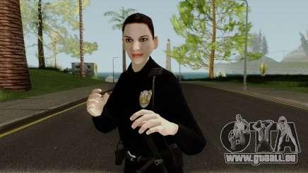 Female Cop LSMPD GTA V pour GTA San Andreas