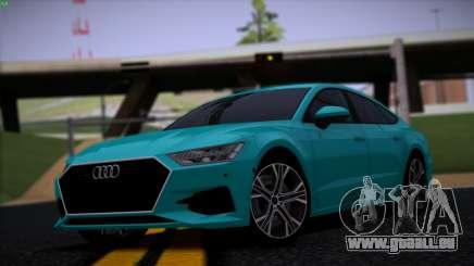 Audi A7 HQ pour GTA San Andreas