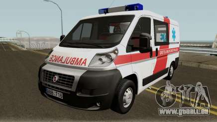 Fiat Ducato Lithuanian Ambulance pour GTA San Andreas