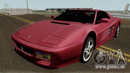 Ferrari 512 TR 1992 für GTA San Andreas