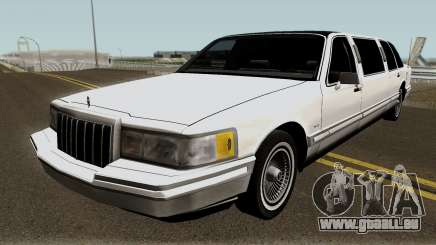 Lincoln Towncar Limo 1991 pour GTA San Andreas