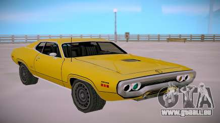 Plymounth GTX 1971 SA StyledLow Poly für GTA San Andreas